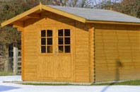 Marlow Bottom shed installation